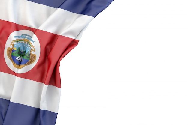 Flagge von costa rica