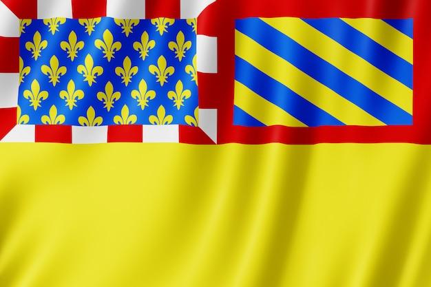 Flagge von côte-d'or, frankreich