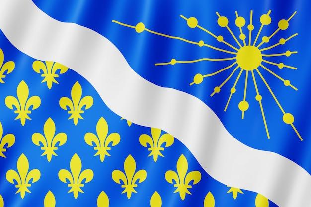 Flagge von essonne, frankreich