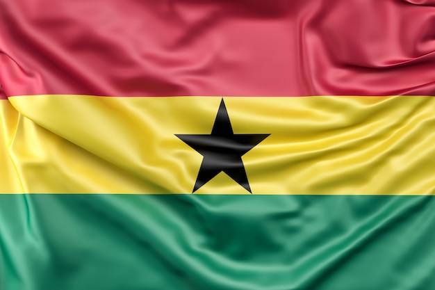 Flagge von ghana