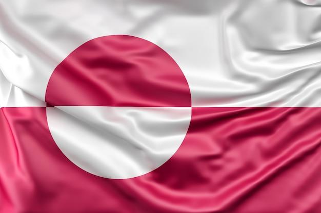Flagge von grönland