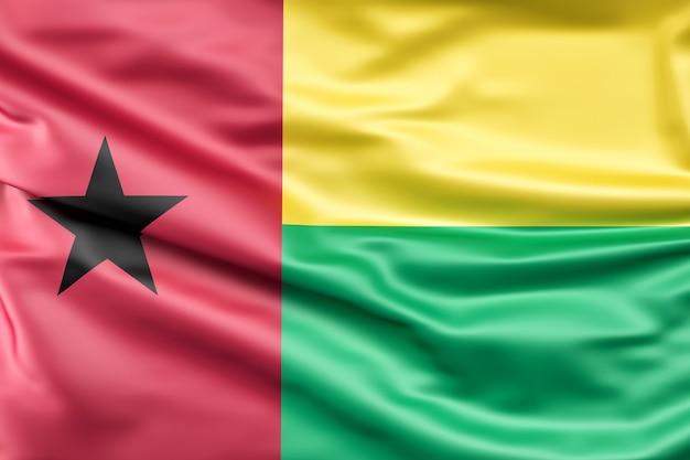 Flagge von guinea-bissau