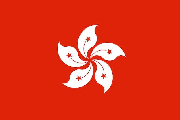Flagge von hongkong