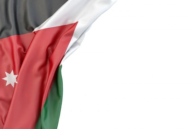 Flagge von jordanien