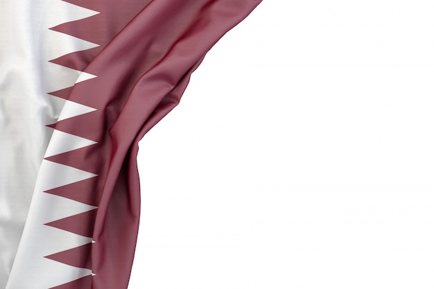 Flagge von katar