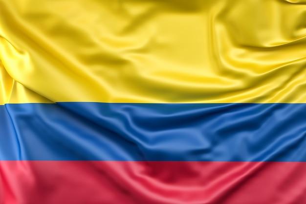 Flagge von kolumbien