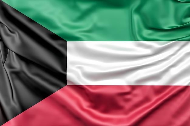 Flagge von kuwait