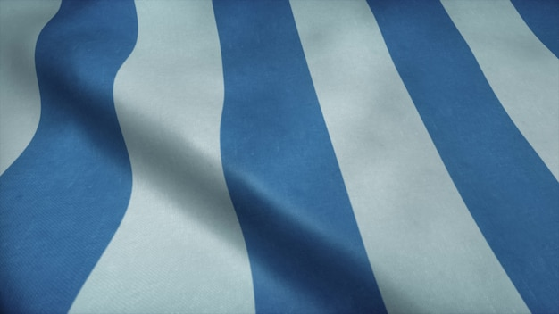 Flagge von mar del plata