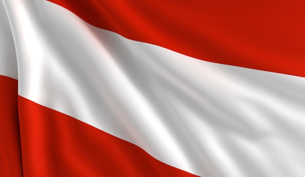 Flagge von österreich