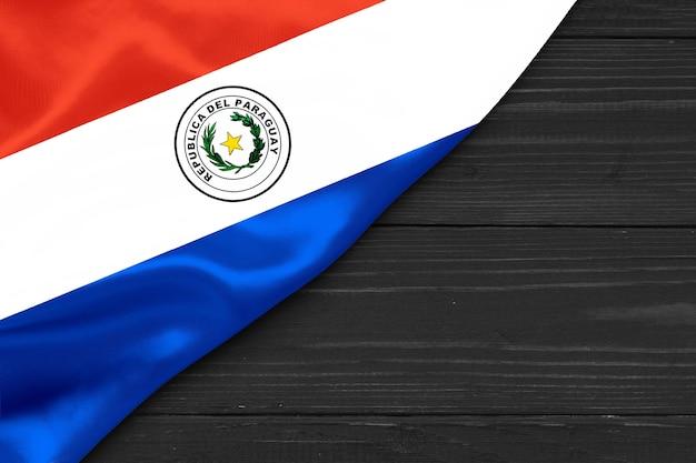 Flagge von paraguay platz für text bewältigen raum