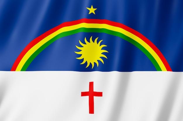 Flagge von pernambuco staat in brasilien