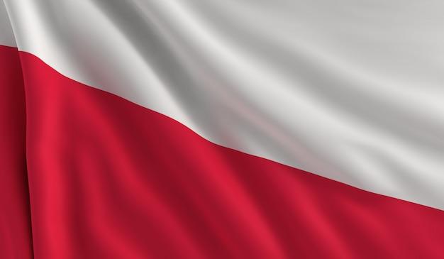 Flagge von polen