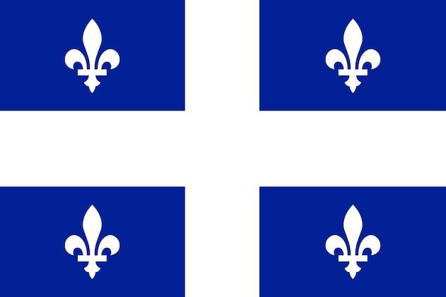 Flagge von quebec