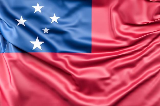 Flagge von samoa