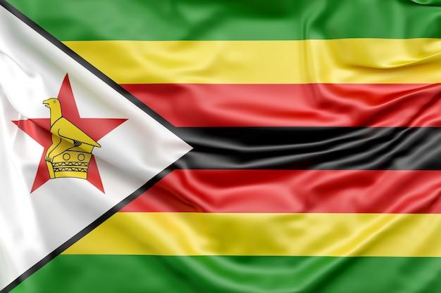 Flagge von simbabwe