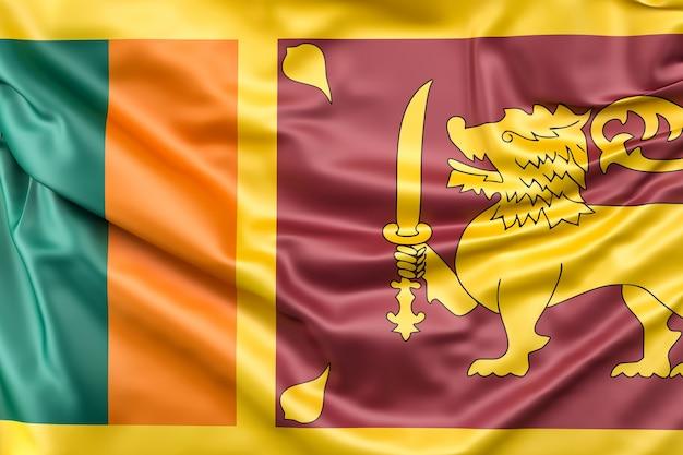 Flagge von sri lanka