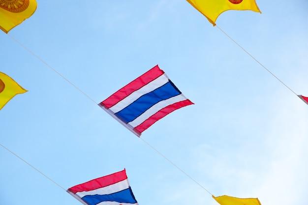 Flagge von thailand.