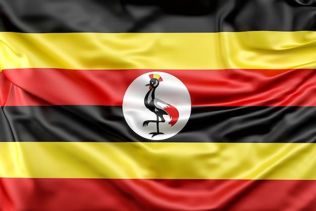 Flagge von uganda