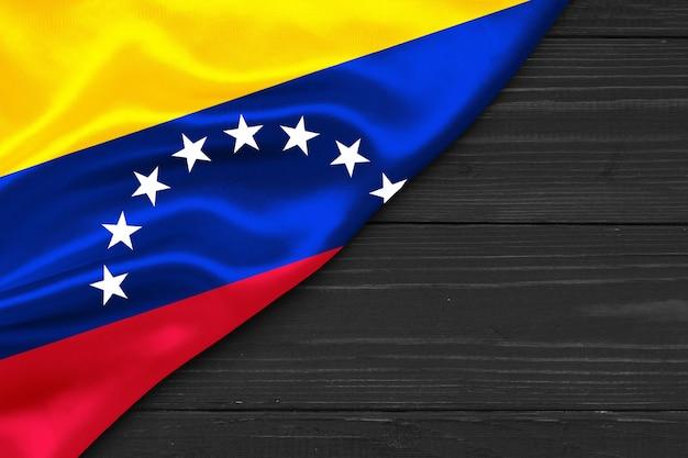 Flagge von venezuela kopierraum