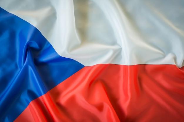 Flaggen der tschechischen republik.
