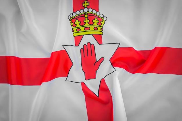 Flaggen von nordirland.