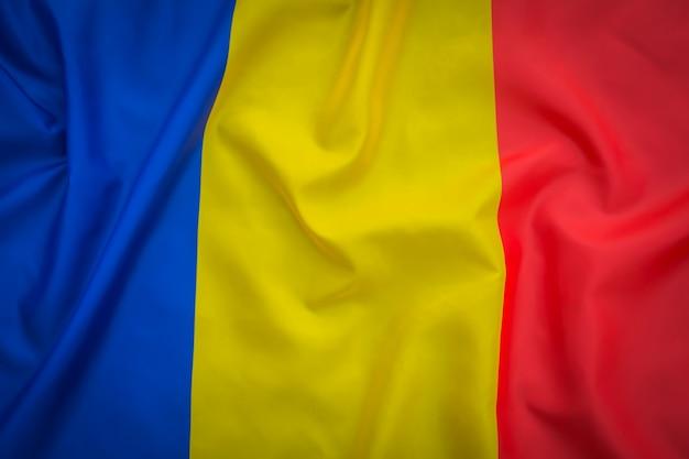 Flaggen von rumänien.