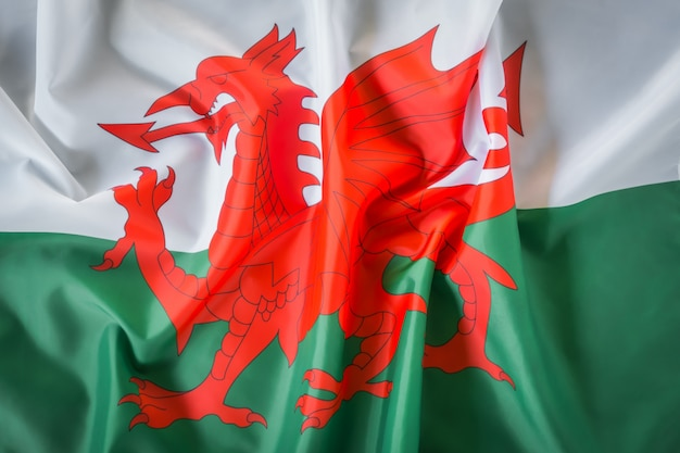 Flags of wales.