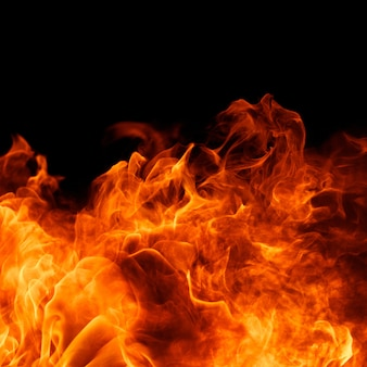 Flamme feuer flamme feuersbrunst textur hintergrund