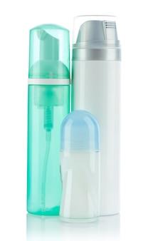 Flaschen und deodorant