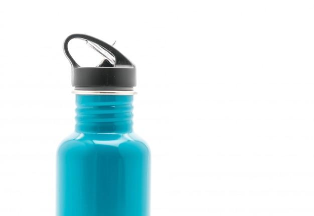 Flaschen-vakuum auf weiß