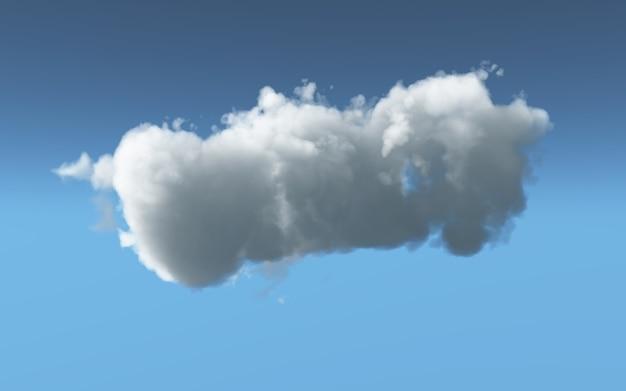 Flauschige wolke 3d