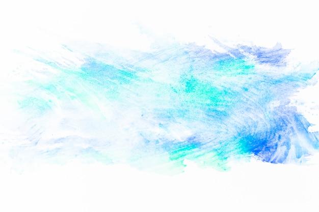 Flecken von türkisfarbener farbe