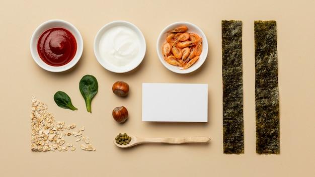 Flexitäre ernährung mit saucenarrangement