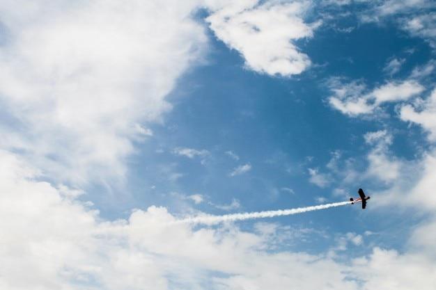 Fliegen über den himmel