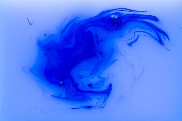 Fließende farbe der zeitgenössischen kunst