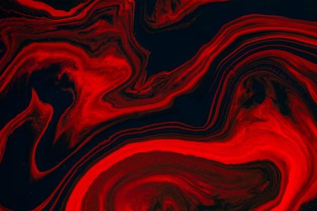 Fließende kunstbeschaffenheit. abstrakter hintergrund mit wirbelndem farbeffekt. flüssiges acrylbild, das fließt und spritzt.