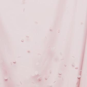 Flowy textilnahaufnahme an den neuen jahren party