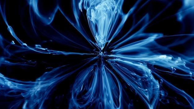 Flüssige kunst abstrakte hintergrundfarbe tinte in wassermischung