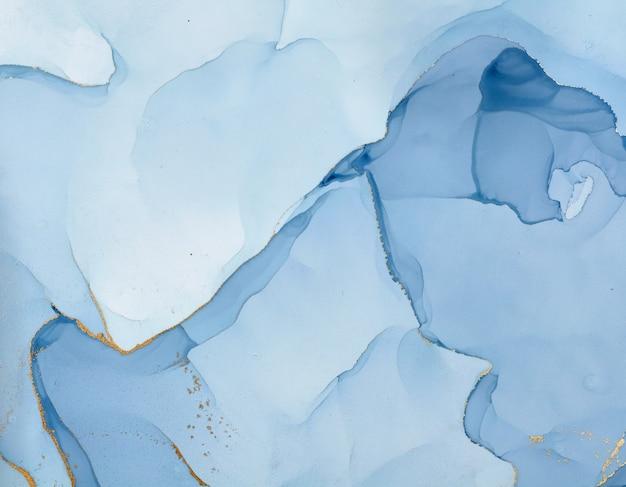 Flüssige kunst. abstrakter bunter hintergrund, tapete. mischen von acrylfarben. moderne kunst. marmor textur. alkoholtintenfarben durchscheinend