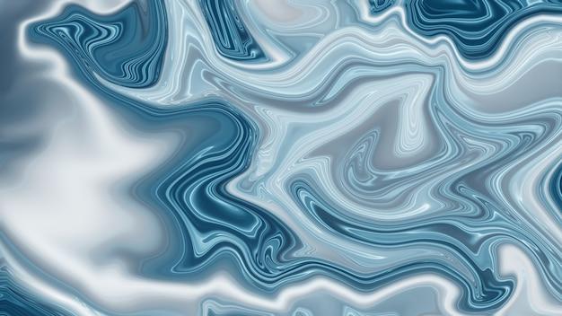 Flüssiger abstrakter marmormusterhintergrund