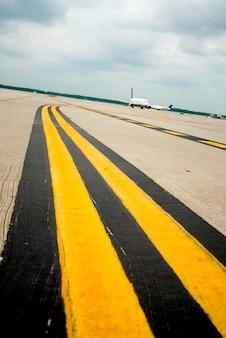 Flugzeug bei ausreißer