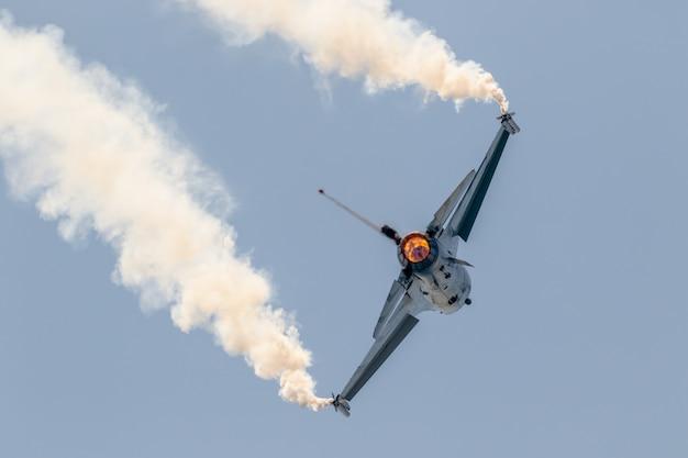 Flugzeug belgische solo-anzeige