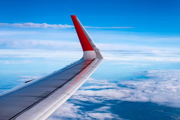 Flugzeug fensteransicht