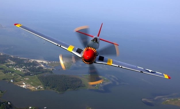 Flugzeug fliegen propellerflugzeug piloten