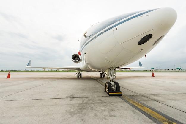 Flugzeug für geschäftsflüge