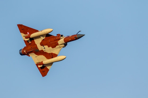 Flugzeug mirage 2000 des couteau delta tactical display
