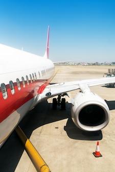 Flugzeuge china shanghai flughafen asphalt