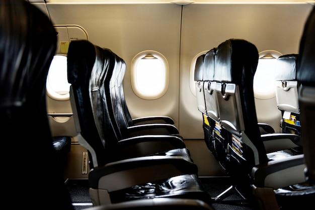 Flugzeuginnenraum