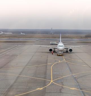 Flugzeugparken
