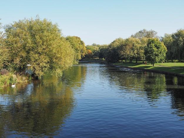 Fluss avon in stratford-upon-avon
